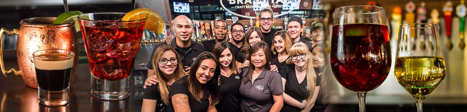 Craft beer bar franchise employees