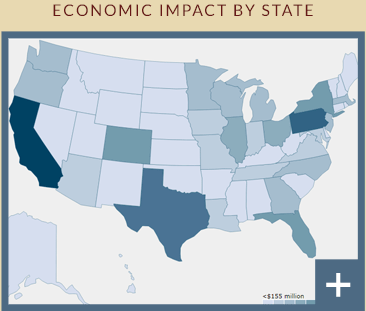 Economic Impact by State 2017