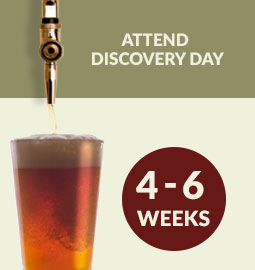 Step 6 - Attend Discovery Day: 4 – 6 weeks